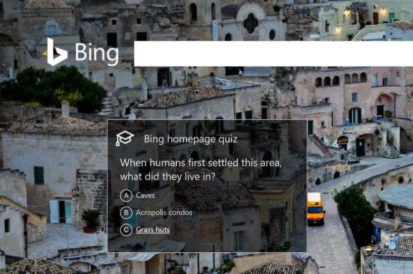 Bing Daily Quiz