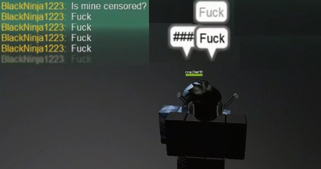 How to Curse in Roblox