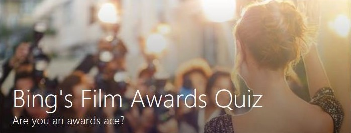 Bing Award Quiz