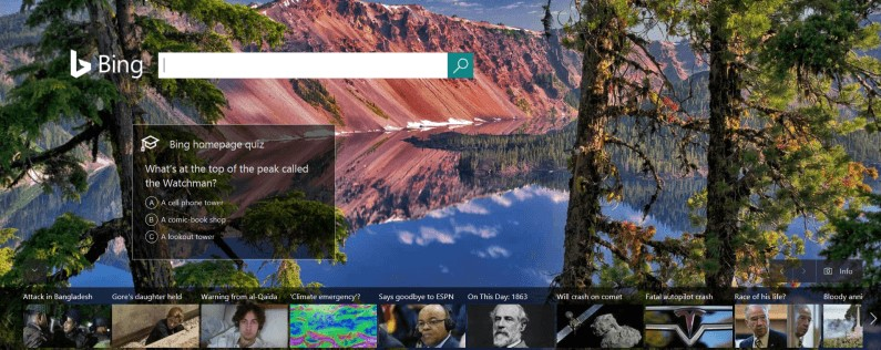 Bing News Quiz